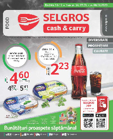 Selgros -  Oferte alimentare   27 Martie - 09 Aprilie