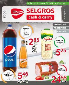 Selgros -Oferte alimentare   10 Aprilie - 23 Aprilie