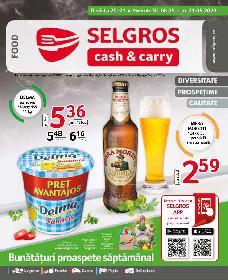Selgros - Oferte alimentare   08 Mai - 21 Mai