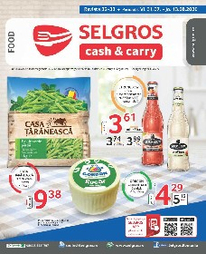 Selgros - Oferta alimentara | 31 Iulie - 13 August