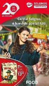 Selgros - Oferte Food   25 Iunie - 08 Iulie