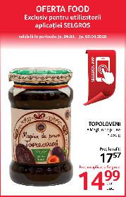 Selgros - Oferte alimentare exclusiv cu aplicatia Selgros   06 Martie - 09 Aprilie