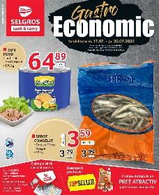 Selgros - Gastro Economic   17 Iulie - 30 Iulie