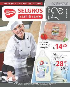 Selgros - Oferte alimentare gastro | 31 Ianuarie - 13 Februarie