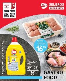 Selgros - Gastro Food   06 Noiembrie - 26 Noiembrie
