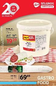 Selgros - Gastro Food   01 Mai - 31 Mai