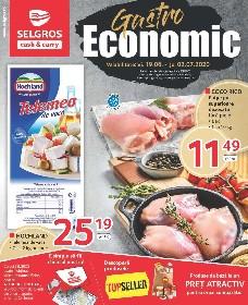 Selgros - Gastro economic online   19 Iunie - 02 Iulie