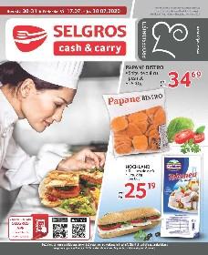 Selgros - Oferte alimentare gastro   17 Iulie - 30 Iulie
