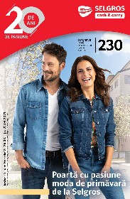 Selgros - Moda de primavara  | 26 Martie - 24 Aprilie