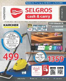 Selgros - Oferte nealimentare   10 Aprilie - 23 Aprilie