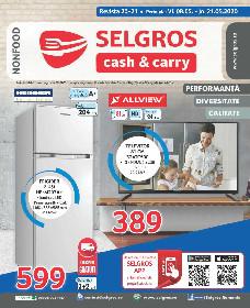 Selgros - Oferte nealimentare   08 Mai - 21 Mai