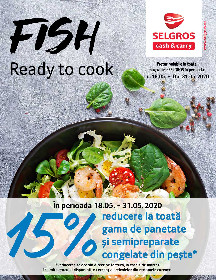 Selgros - Fish ready to cook | 18 Mai - 31 Mai