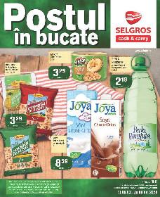 Selgros - Postul in bucate   06 Martie - 09 Aprilie