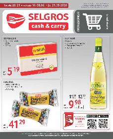 Selgros - Oferte pentru revanzatori   08 Mai - 21 Mai