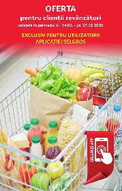 Selgros - Oferta revanzatori exclusiv aplicatia Selgros | 14 Februarie - 27 Februarie