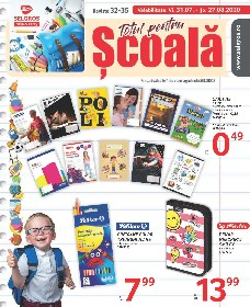 Selgros - Totul pentru scoala | 31 Iulie - 13 August