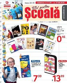 Selgros - Totul pentru scoala promovare online   31 Iulie - 27 August