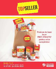 Selgros - Produse de baza la preturi atractive TopSeller  | 27 Martie - 23 Aprilie