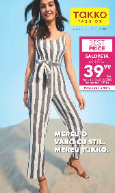 Takko Fashion - Mereu o vara cu stil | 20 Mai - 31 Mai
