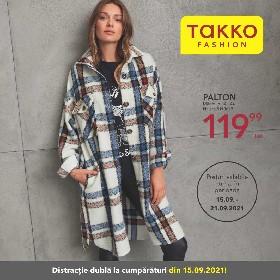 Takko Fashion - Distractie dubla la cumparaturi | 15 Septembrie - 21 Septembrie