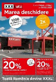 XXXLutz - Marea Deschidere | 03 Februarie - 14 Februarie