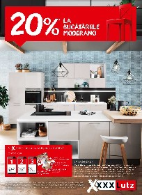 XXXLutz - 20% reducere la bucatariile Moderlano | 21 Iunie - 04 Iulie