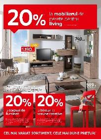 XXXLutz - 20% reducere la mobilierul de perete pentru living   06 Septembrie - 03 Octombrie